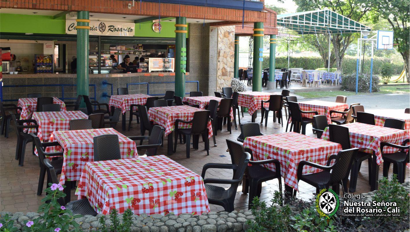 Cafetería Nuestra Señora del Rosario 2004