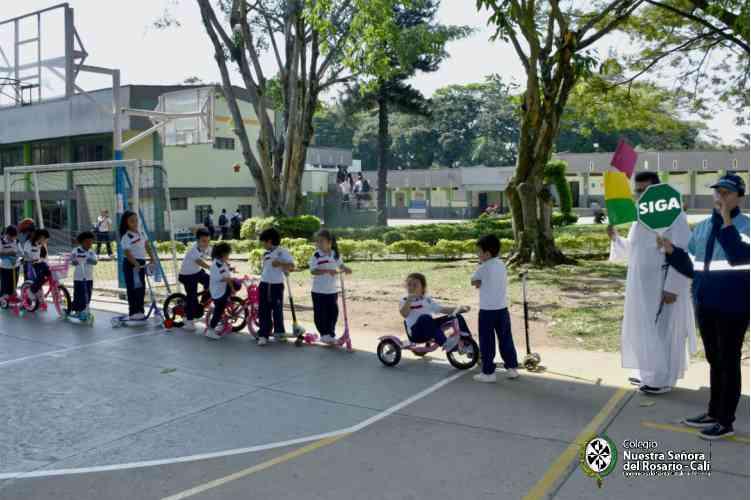 Educacion Vial Entradas Nuestra Señora del Rosario 2003
