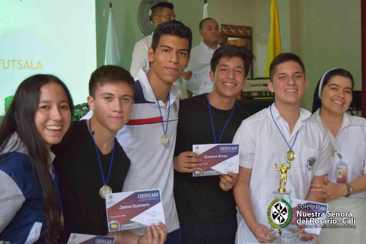 Final deportes Nuestra Señora del Rosario 2015